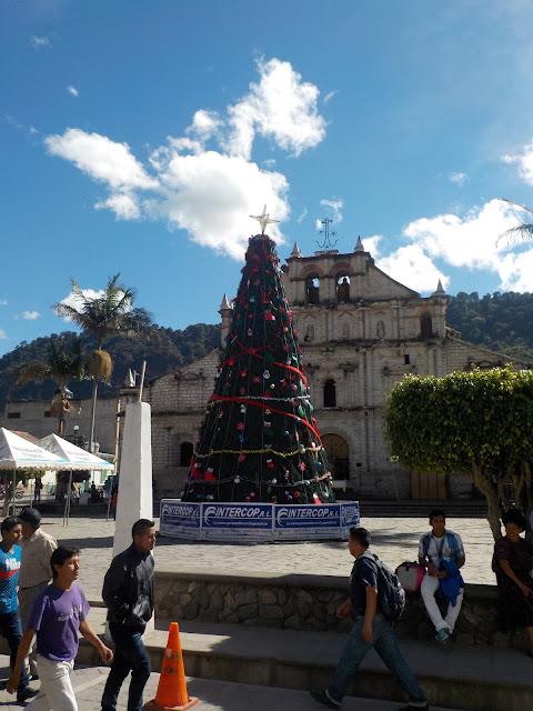 Christmas tree Panajachel Guatemala