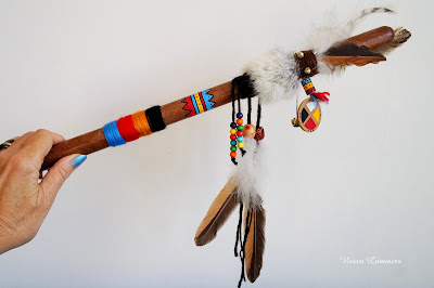 The Talking Stick is a tool for solving communication problems.