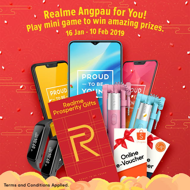 "Slash ""Angpaus"" To Win Realme Chinese New Year Prosperity Prizes"