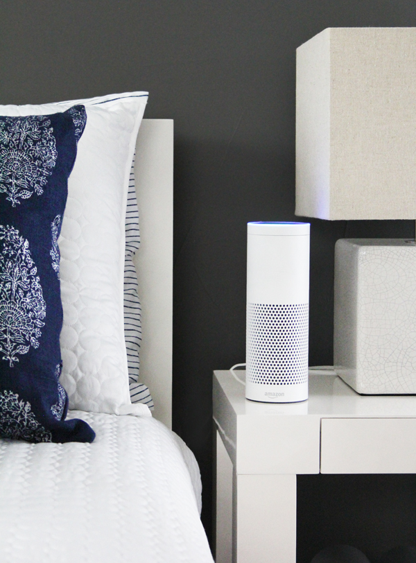 Smart Home Guest Room Ideas with Hive Home System and Amazon Echo Alexa