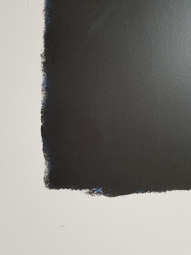 sheetrock wall into chalkboard