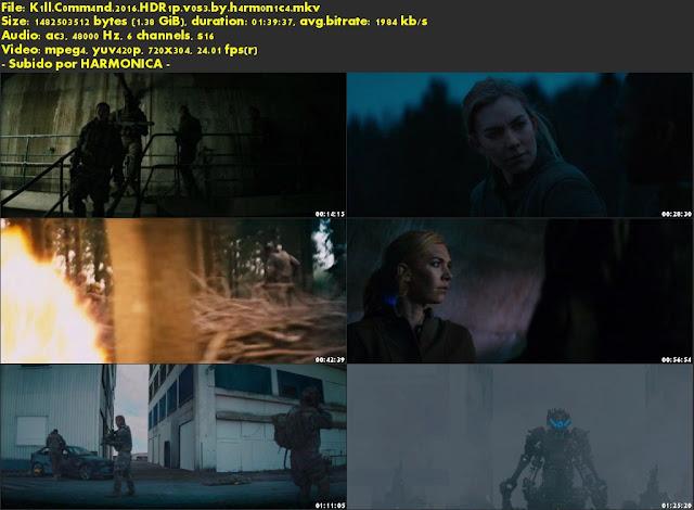 Descargar Kill Command Subtitulado por MEGA.
