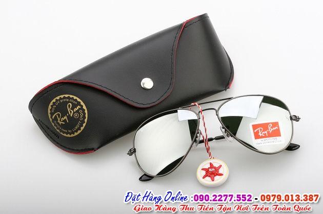 Bán kính rayban tráng gương bạc cao cấp  tròng kính giá chỉ 250k tại Xã Phúc Ninh