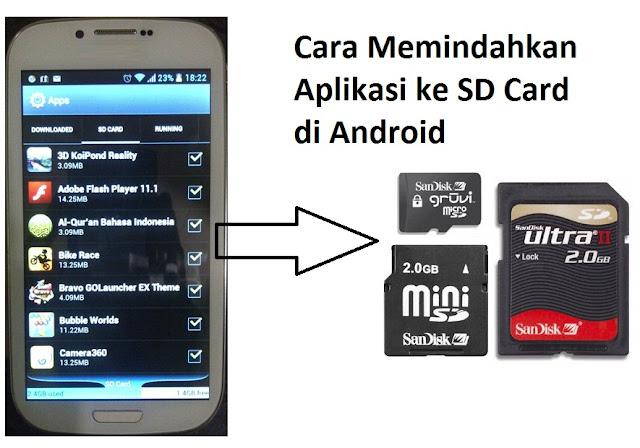 Cara Memindahkan Aplikasi ke SD Card di Android