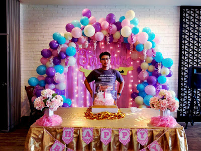 balloon birthday decoration