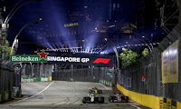 Williams F1 Grand Prix Singapuru 2018