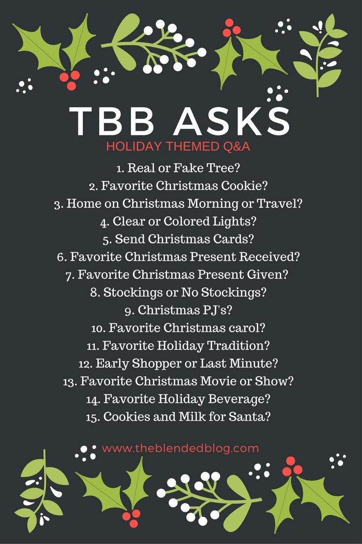 TBB Asks Christmas