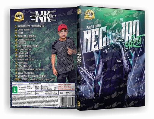 DVD – NEGUINHO DO KAXETTA DVD 17 ANOS – ISO