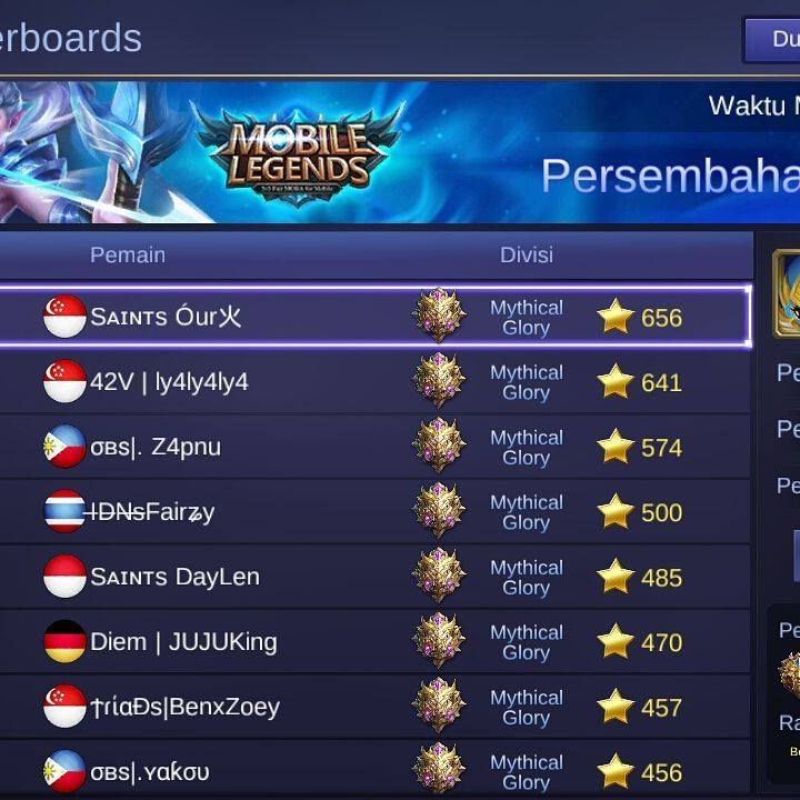 Image result for nickname bervariasi mobile legends