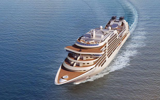 Seabourn's first new ship for five years will sail from Greece in December