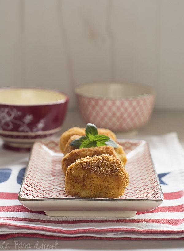 Nuggets de pollo caseros | sin lactosa | la Rosa dulce
