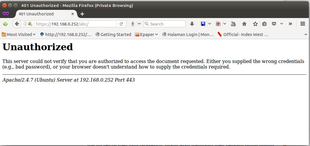 Cara proteksi akses folder di web server apache dengan user dan ...
