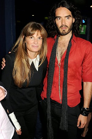 Russell Brand and Jemima Khan really together