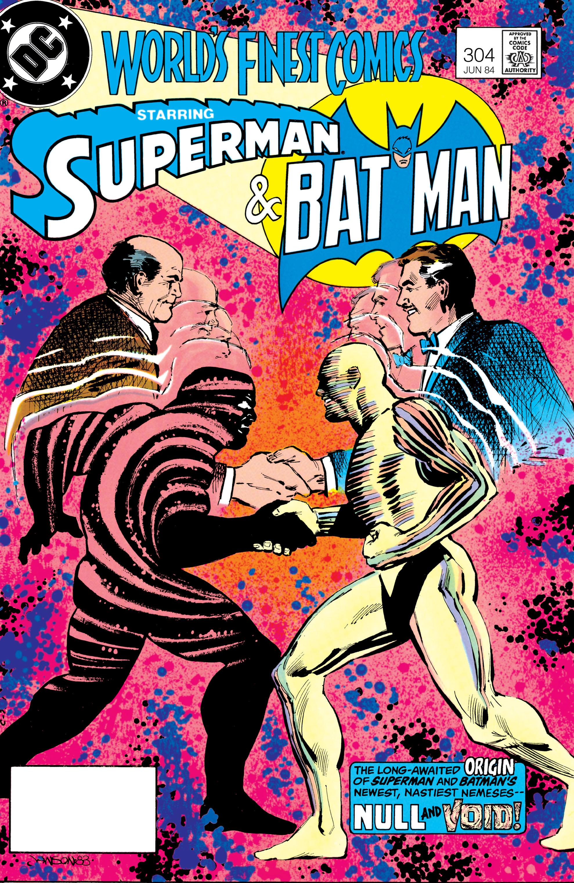 Read online World's Finest Comics comic -  Issue #304 - 1