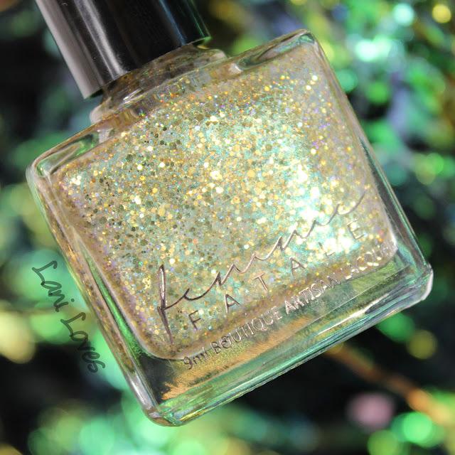 Femme Fatale Glass Carousel Nail Polish Swatches & Review