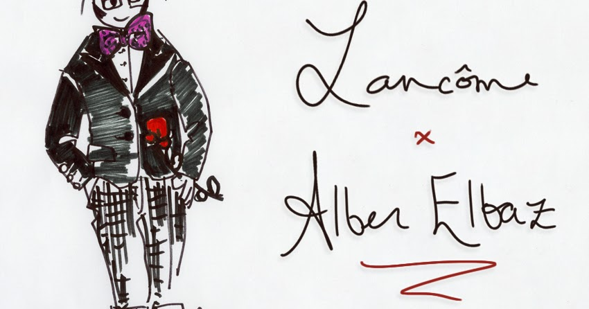 84c7bee4584 confessions of a style cookie: Obsession du Jour : Lancôme X Alber Elbaz