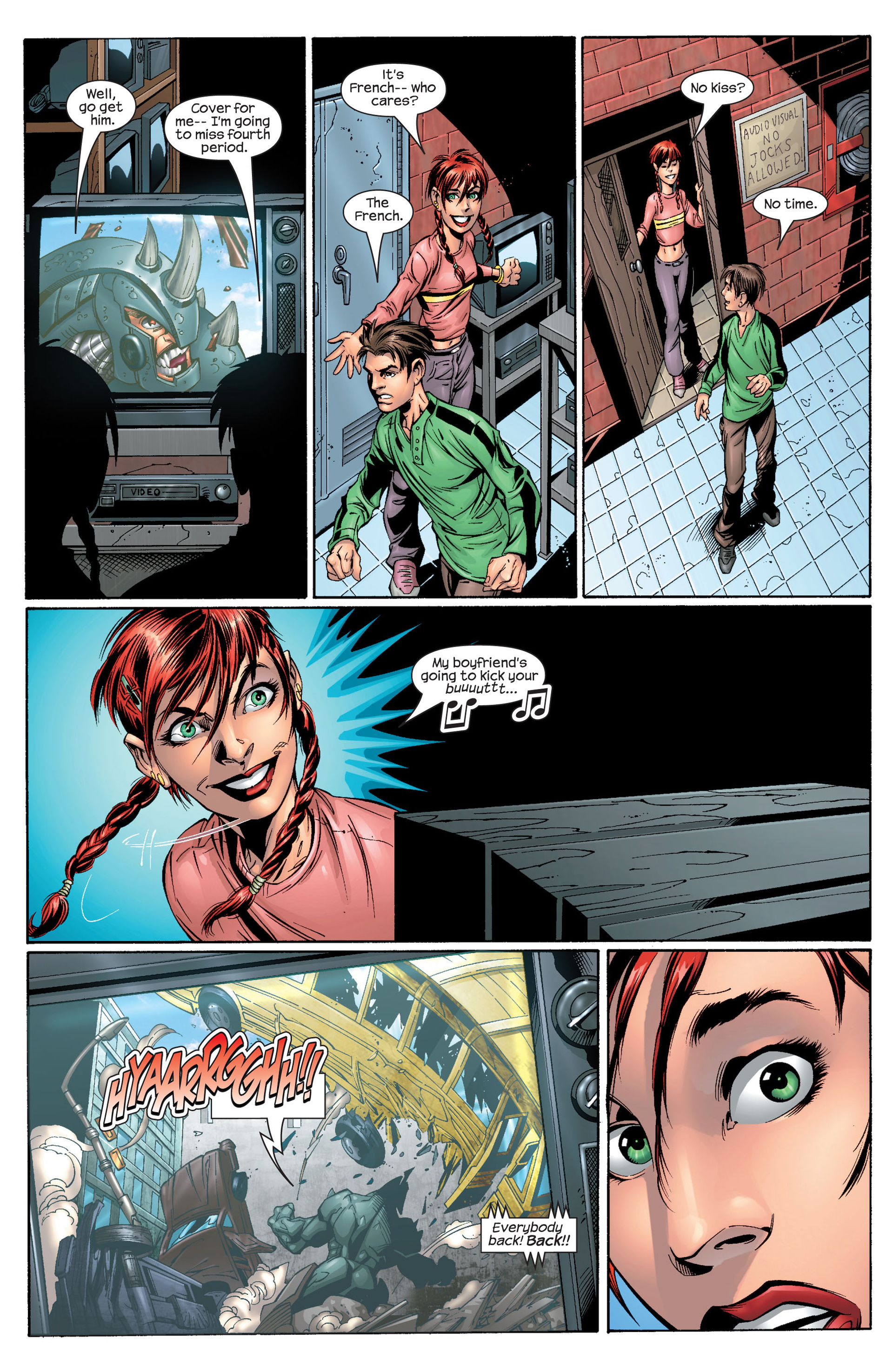 Read online Ultimate Spider-Man (2000) comic -  Issue #28 - 5