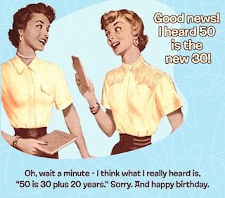 Funny Retro Birthday Cards