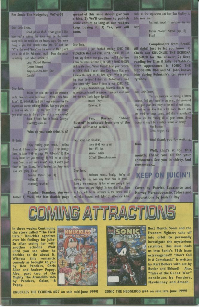Read online Sonic The Hedgehog comic -  Issue #73 - 32