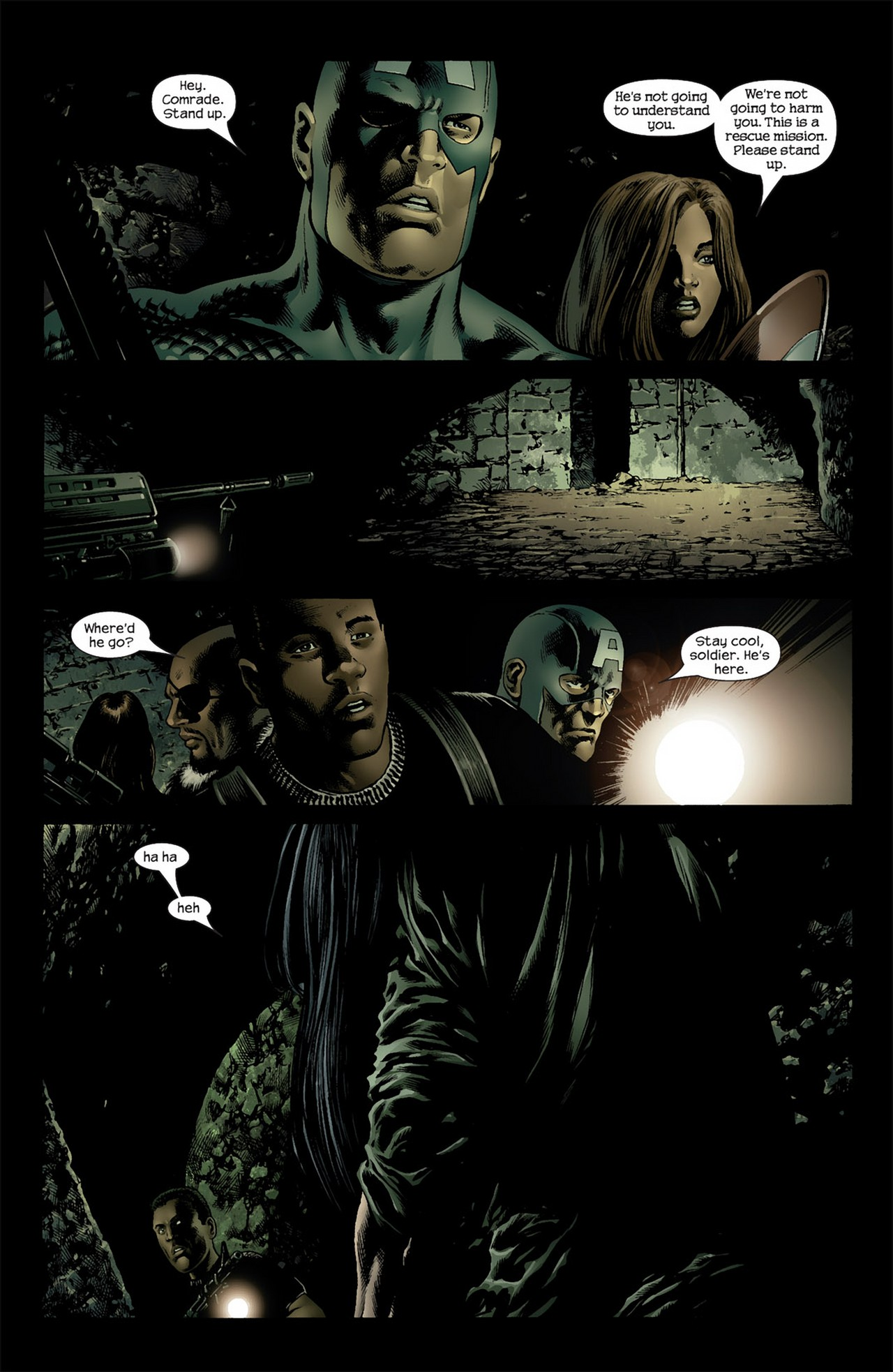 Read online Ultimate Nightmare comic -  Issue #3 - 8