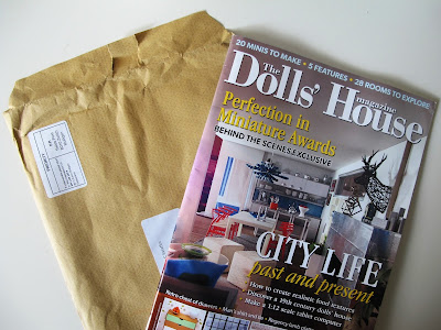 Spetmber 2015 issue of The Dolls' House Magazine, with mailing envelope.