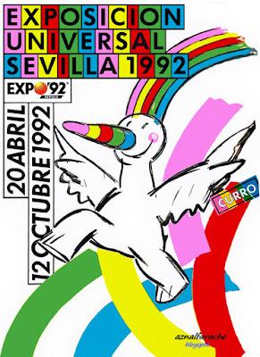 Sevilla - Curro Expo 92 - Heinz Edelmann - 1992