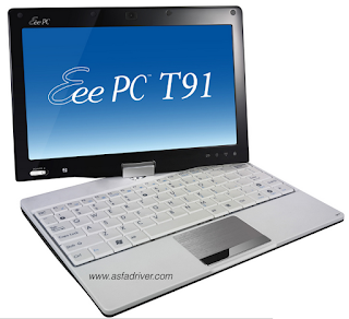 Asus Eee PC T91/T91MT Drivers Download for Windows 7 32 bit