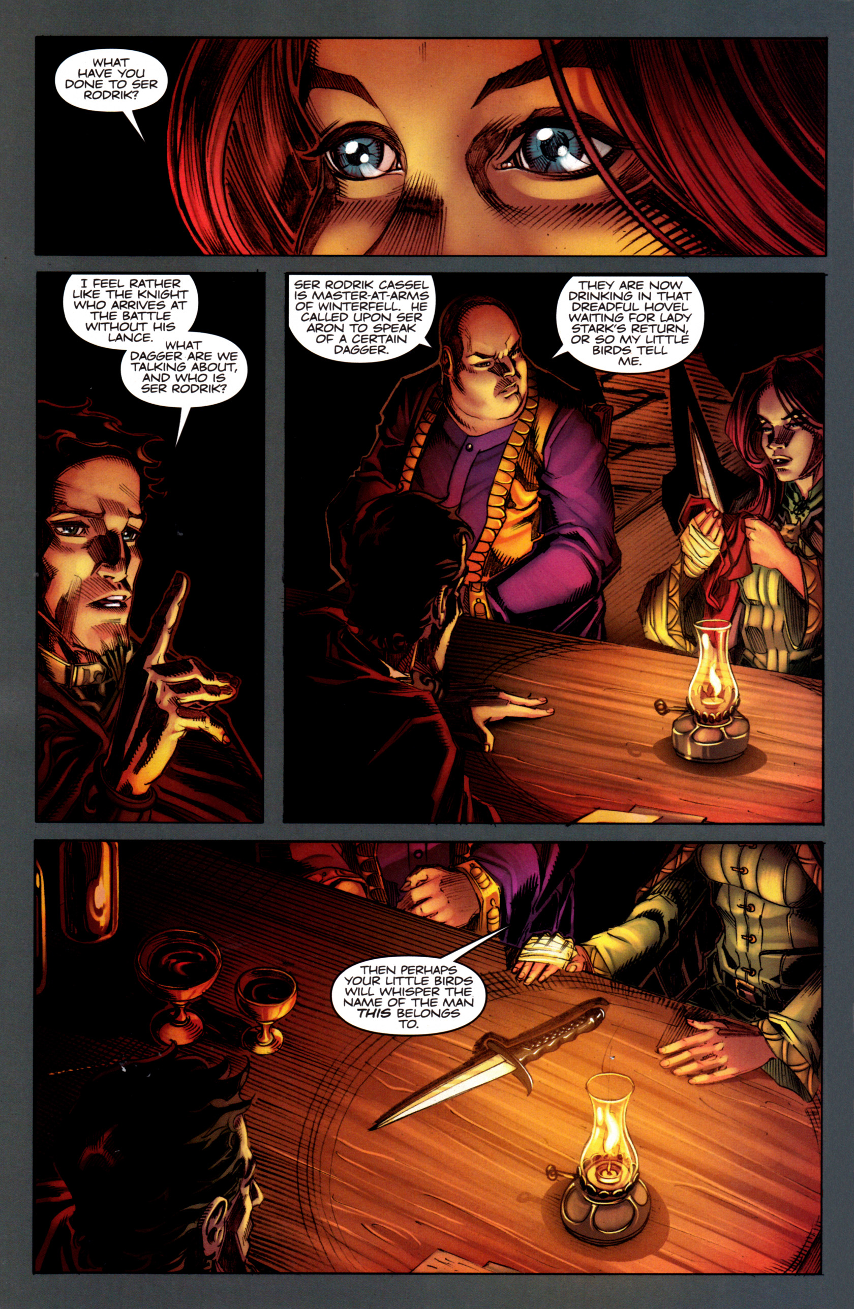 Read online A Game Of Thrones comic -  Issue #5 - 18