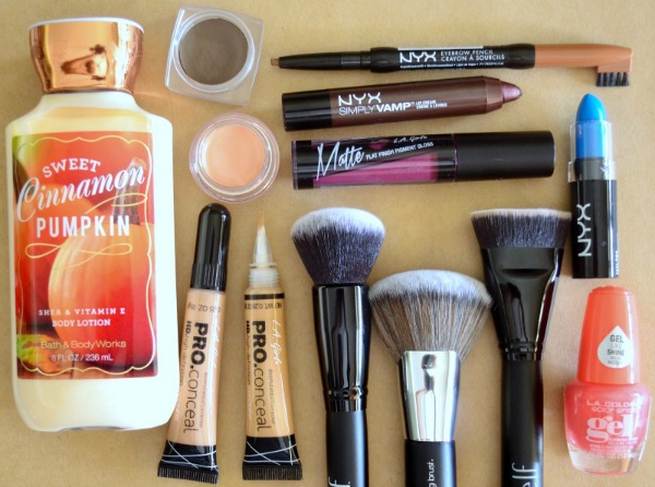 compras belleza nyx, elf, la girl, bath and body works