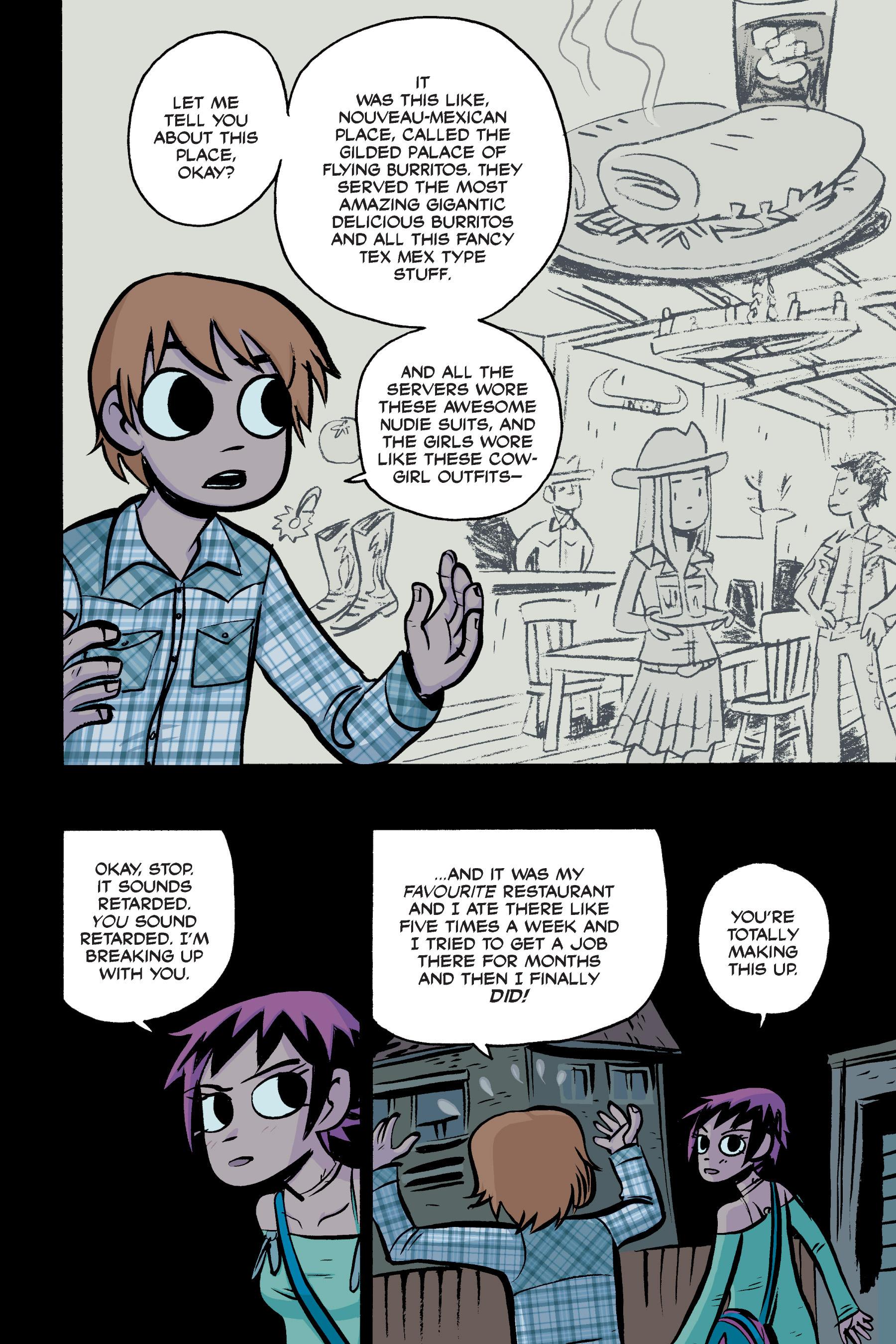 Read online Scott Pilgrim comic -  Issue #2 - 168