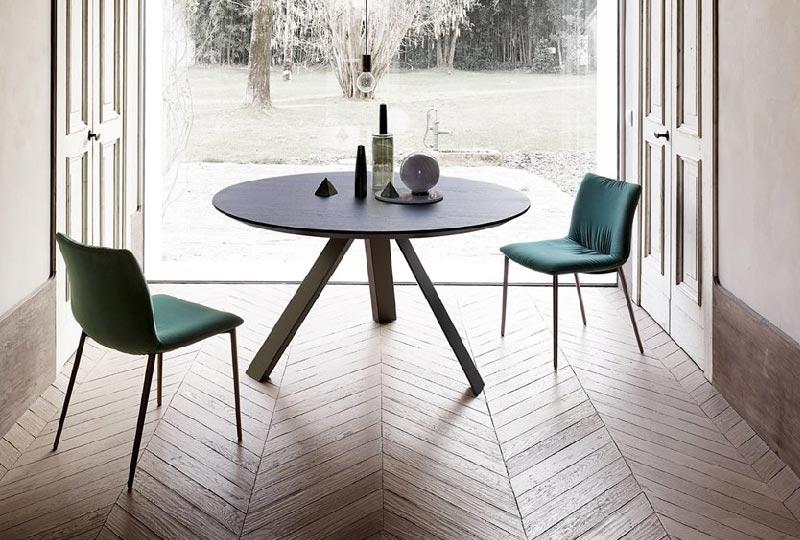 tavolo pranzo rotondo KI di Ronda Design