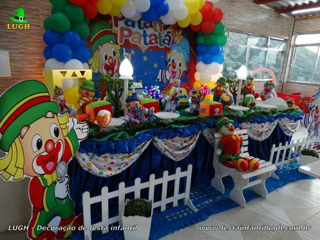 Decoração luxo Patati Patatá - Festa de aniversário infantil