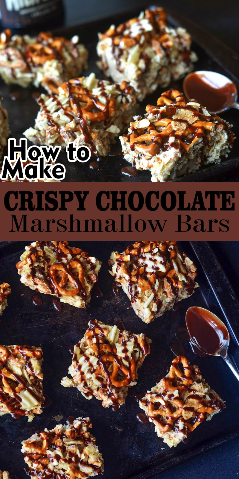 CRISPY CHOCOLATE-MARSHMALLOW BARS