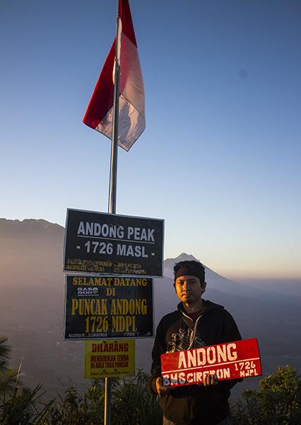 Gunung Andong, 17 Juli 2018