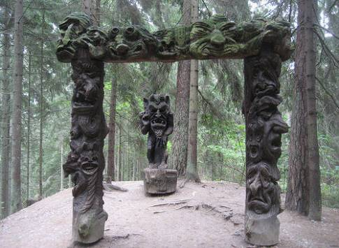 Misteri Bukit Penyihir Di Lithuania Tempat Berkumpul Penyihir Dan Peri