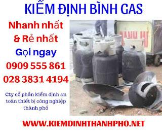 Báo giá kiểm định bình gas
