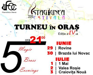 Filarmonica Oltenia - Turneu in oras IV
