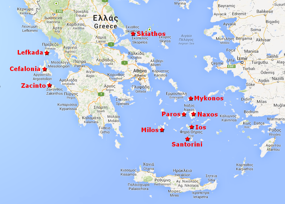 Le 10 isole più belle della Grecia!