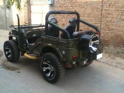 modifikasi jeep willys