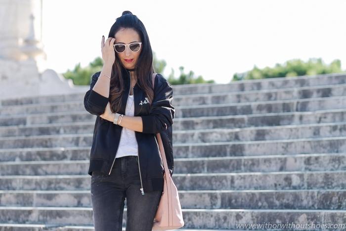 BLogger influencer de moda belleza de Valencia con looks