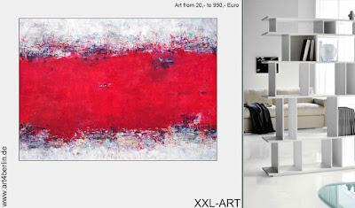 großformatige Leinwandgemälde und moderne Bilder in Öl und Acryl