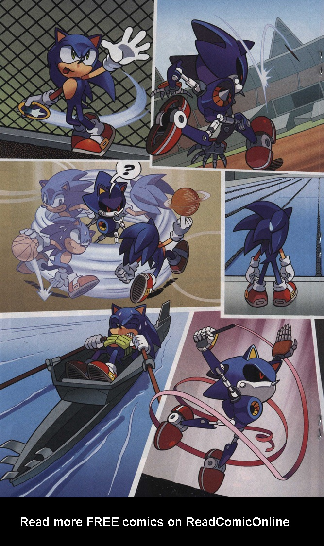 Read online Sonic The Hedgehog comic -  Issue #242 - 18