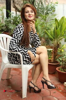 Actress Saloni Latest Pos in Short Dress  0308.JPG