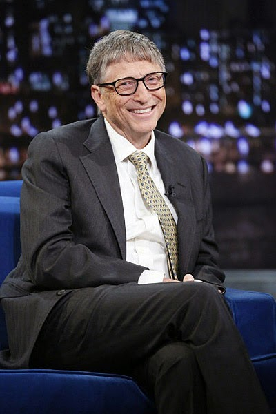 Bill Gates on the show Jimmy Fallon