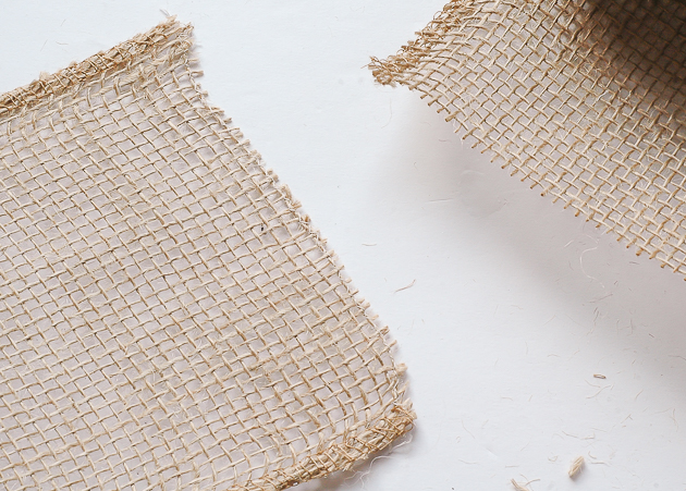 how to limit burlap from fraying, burlap ribbon