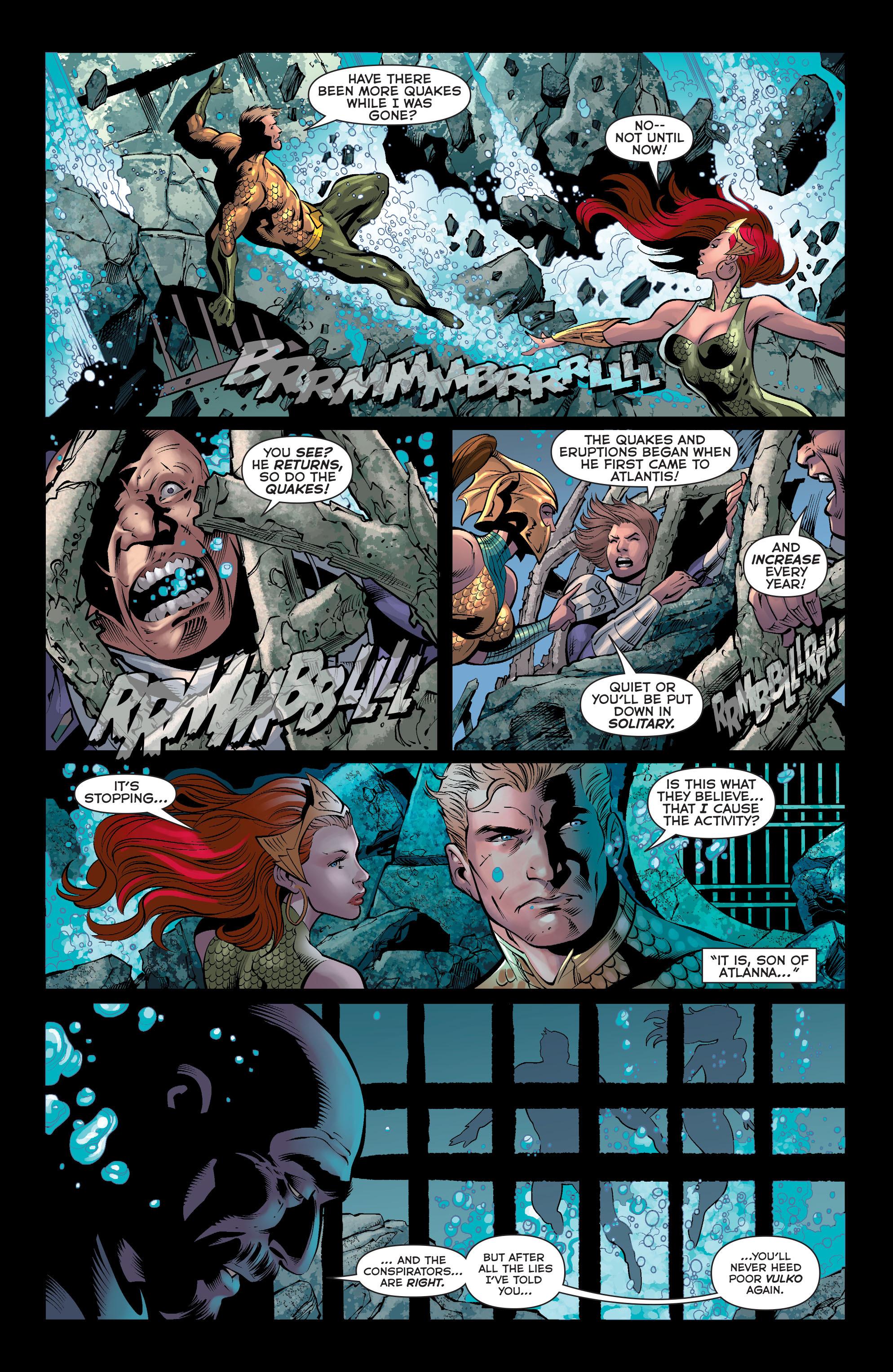 Read online Aquaman (2011) comic -  Issue #33 - 8