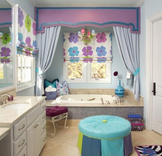 20 Desain Kamar Mandi Untuk Anak