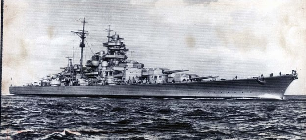World War Ii In Pictures The Bismarck