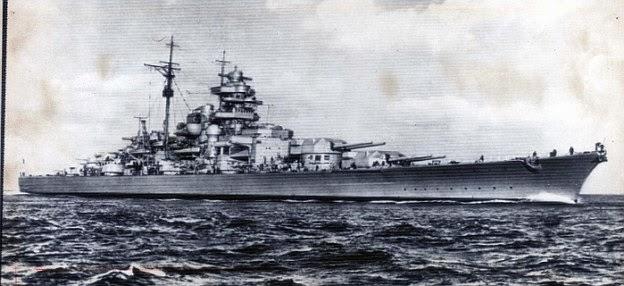 World War Ii In Pictures The Bismarck