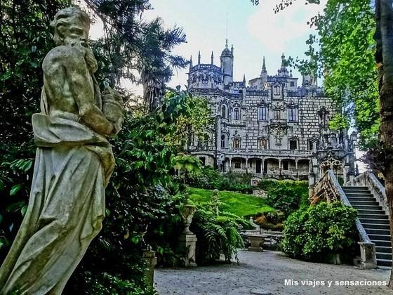 Paseo de los dioses, Quinta da Regaleira, Sintra